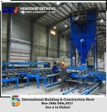 La línea de producción de placas de yeso (tipo de estufa de aire caliente)