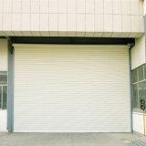 La porte en acier d'obturateur de rouleau de polyuréthane de couleur automatique s'enroulent