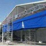 Porta de levantamento flexível de /Hangar da porta da tela do PVC