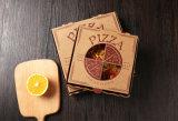 De Goedkope Bruine Doos van uitstekende kwaliteit van de Pizza met Venster
