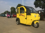 Трицикл самоката полной кабины электрический миниый с автоматическим