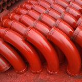 Gomiti lunghi gemellare del tubo dell'asta di vita attiva delle pareti Dn125 dei pezzi di ricambio della costruzione del camion della pompa per calcestruzzo
