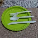 Vaisselle biodégradable Composable de couverts de quatre jeux de la Chine remplaçable