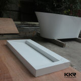 Kingkonreeの円形の固体表面の石造りのホテルの軸受けの洗面器