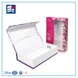 Caixa de empacotamento da embalagem luxuosa magnética feita sob encomenda do cartão/caixa de presente de papel