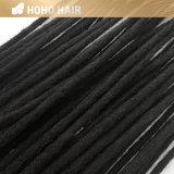 Venda por grosso de 20 polegadas crochet negro Dreadlcocks pêlos sintéticos