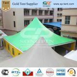 広州の緑の大きいイベントの塔の大きい屋外の玄関ひさしのテント