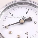 Mètre normal de pression d'enveloppe de fer