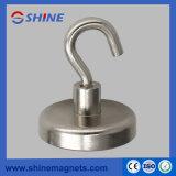 Eisen-runder niedriger Neodym-Magnet-Haken