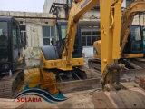 Escavatore idraulico utilizzato del cingolo di KOMATSU PC55mr dell'escavatore del macchinario di costruzione