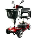 Motorino Handicapped del motorino 4 della rotella di mobilità della rotella elettrica del motorino 3 con la presidenza per gli handicappati