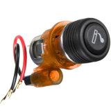 Aansteker van de Auto van de Stop van de Afzet van de Contactdoos van de Macht van de Aansteker van de Boot van de Auto van de Motorfiets van de Toebehoren van de auto de Draagbare 12V 120W