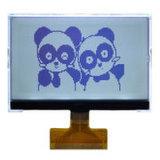 12864 FSTN Punkt-grafischer weißer Farben-Hintergrundbeleuchtung LCD-Bildschirmanzeige-Baugruppen-Bildschirm