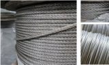 Iwrc 304 Stainless Steel Wire Rope 7X7 Steel Cable