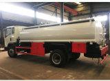 4000L Vrachtwagen van de Brandstof van de Vrachtwagen van de Aanhangwagen van de Tank van de Carrier van de Brandstof van het Water van de Olie van de Container van de Tanker van 3 Assen van Alumimun van het roestvrij staal/Van het Koolstofstaal/van de Legering de Facultatieve Semi met Pomp