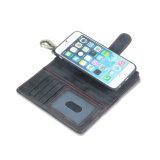 Het Geval van de Telefoon van het Leer van de multifunctionele & Groef van de Kaart voor iPhone X