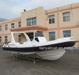 Liya 25pés melhor barcos infláveis rígidos costela Boat