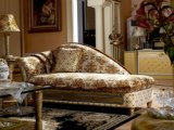 0016 Conicalness Legs Classical Royal Golden Color Bed ROOMs Collection