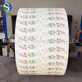 Alta qualità ventilatore della tazza di carta stampa in offset/di Flexo su ordinazione in rullo/strato per la tazza di carta