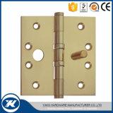 """"""" dobradiça de porta de madeira da extremidade de bronze da porta da segurança 5"""