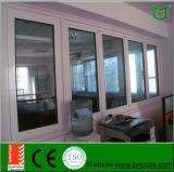 Indicador de dobramento do perfil de alumínio do material de construção com vidro