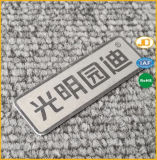 Изготовленный на заказ Nameplate металла логоса значка дела конструктора