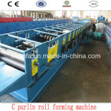 Roulis en acier de forme de Purlin du professionnel C Z formant la machine