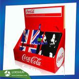 Caja de embalaje de cartón OEM para portátiles, encimera de cartón de la unidad de visualización CDU