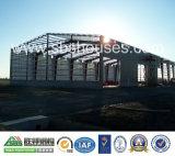 Atelier en acier personnalisé de bâti d'acier de construction