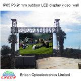 Hohe Helligkeit HD P3.91 Druckguß im Freienled-Bildschirm mit 500X500mm /500X1000mm dem Panel