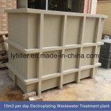 Planta Waste Integrated do tratamento da água de Mbr para a água de esgoto doméstica