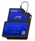 GPSの電子容器ロックは貨物セキュリティシステムのためのBluetooth KeyboardパスワードSMSソフトウェアAPPによってロック解除する