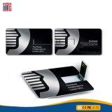 Lecteur flash USB fait sur commande de carte de visite professionnelle de visite du logo USB Pendrive de clé de mémoire USB par la carte de crédit de promotion pour les meilleurs cadeaux