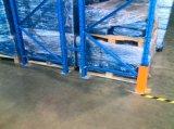 cremagliera d'acciaio registrabile del pallet del magazzino di 2.5tx3levels P88X68mm 75mm Q235B