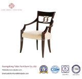 가구를 식사하는 주문품 호텔은 목제 의자 (7891-1)로 놓았다