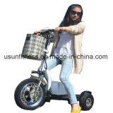 よい価格3の車輪の障害者のためのFoldable電気移動性のスクーター