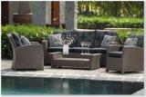 Conjunto al aire libre del sofá del hotel del patio de la rota del jardín de la oficina del salón casero al aire libre de País de Gales