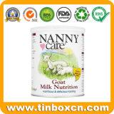 Barattolo di latta rotondo dell'alimento del metallo per di latte in polvere 900g