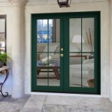 "36 "" X80 "" X2 Left Hand Swing in Exterior Entry Double Aluminum Front Doors"