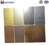 201 304 316 en acier inoxydable finition miroir feuille couleur 8K
