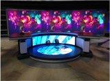 Visualizzazione di LED di fusione sotto pressione 768*768mm dell'interno del Governo P3 per l'evento