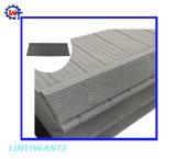 Peso ligero de acero galvanizado recubierto de piedra mosaico de madera