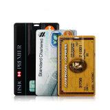 クレジットカードUSBのフラッシュ駆動機構OEM USBのメモリPendriveをカスタマイズしなさい