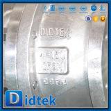 La llave inglesa de Didtek funciona la vávula de bola de dos piezas de flotación