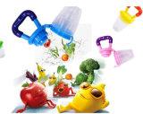 Câble d'alimentation de nourriture, grignoteur de Teether de câble d'alimentation de fruits frais de bébé, jouet infantile de de démarrage, poches de silicones