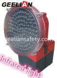 230mm LEDのワイヤーのない点滅の道の警報灯