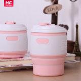 tasse de café respectueuse de l'environnement de silicones de couleurs de 12oz 350ml quatre