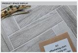60x240mm Cristal Espina de Pez aspecto de madera de estilo elegante mosaico de la pared de porcelana de materiales de construcción