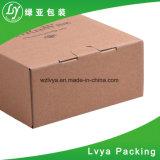 Lujo personalizado Kraft de plegado de papel cartón ondulado caja de embalaje de regalo con logo Imprimir