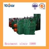 Pequeño módulo doble engranaje helicoidal árbol utilizado en la industria metalúrgica